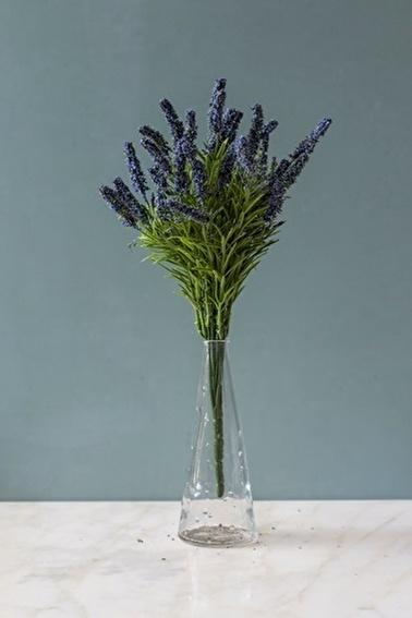 Arma House Cote d'Azur Mavi Yapay Lavanta ( Yapay Çiçek ) Mavi